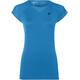 asics Workout Hardloopshirt korte mouwen Dames blauw